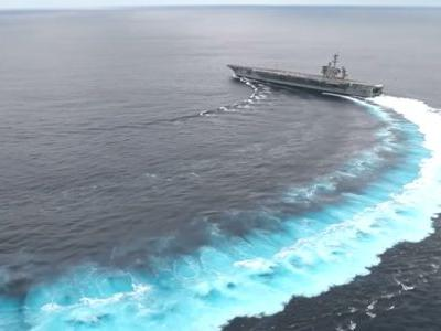 The US sent an aircraft carrier to 'send a message' to Iran - but it's at a major disadvantage