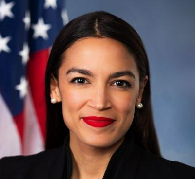 """Alexandria Ocasio-Cortez mocks God: """"What good are your thoughts & prayers when they don't even keep the pews safe"""""""