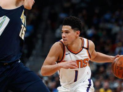 Devin Booker scores 30, Warren 25 as Suns beat Nuggets