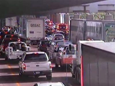 NB I-75 reopens at Brent Spence Bridge after reports of man on highway