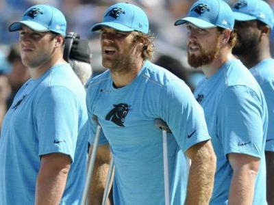 Panthers TE Olsen heads to IR; will miss at least 8 games
