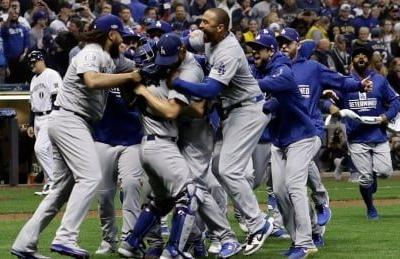 Dodgers beat Brewers in NLCS Game 7, will face Red Sox in World Series