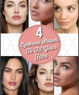 The Perfect Eyebrow Shapes to Fit Every Face