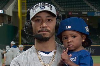 Dodgers star Mookie Betts on home run robbery, return to the World Series with MLB on FOX crew