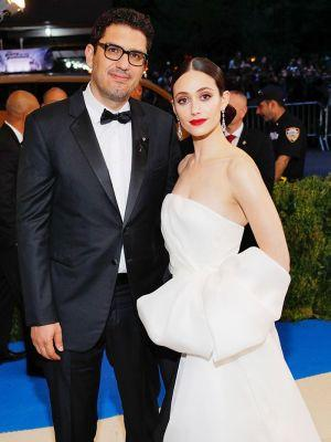 Emmy Rossum Is Married! See Her Gorgeous Wedding Dress
