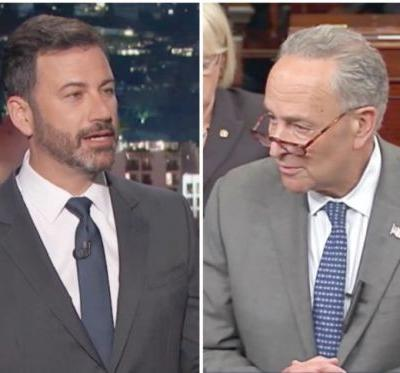 Jimmy Kimmel Reportedly Consulted With Chuck Schumer on Health Care Specifics