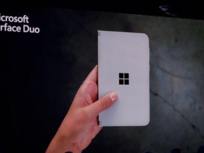Microsoft Just Announced A Foldable Android Smartphone