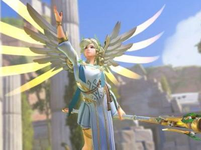 Overwatch PC Patch Fixes Oni Genji and Winged Victory Mercy Voice Lines