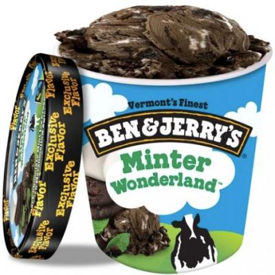 Ben & Jerry's New Minter Wonderland Flavor At Target Is Here For A Holiday Treat