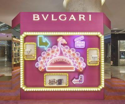 Bvlgari's Ion Orchard pop up is an ode to retro cinema