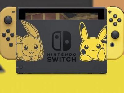 This Pokemon themed Switch makes me want to say Let's Go Pikachu!