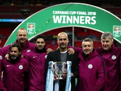 Guardiola sets sights on further silverware after 'outstanding' Carabao Cup triumph