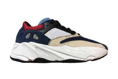 Newest YEEZY BOOST 700 Wave Runner Sample Comes in Navy, Red & Cream