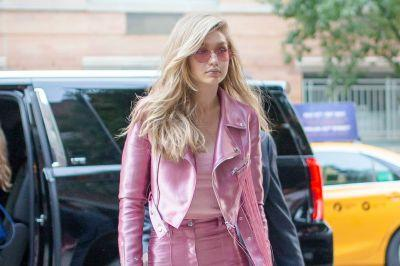 Gigi Hadid steps out in tacky Barbie outfit