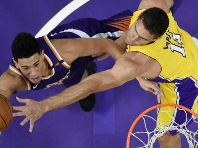 Devin Booker's 33 points power Suns past Lakers