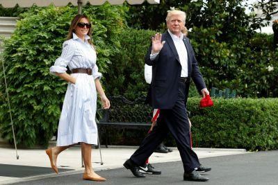 Trump is spending the weekend at the 'very rustic' Camp David
