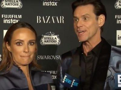 Jim Carrey gives sad, existential Fashion Week interview