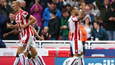 Hughes lauds 'elite' Jese after Stoke's gritty Arsenal upset