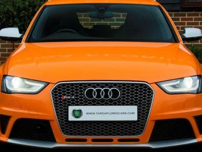Warm Up Your January With This Solar Orange B8 Audi RS4