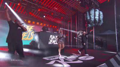 Watch Run The Jewels Bring Trina & Joi Gilliam To The Kimmel Stage
