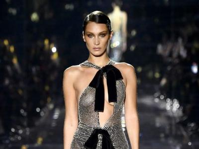 At Tom Ford, Celebrities, Hadids and Sexy Gowns Stole the Show