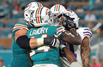 Dolphins coach calls Jarvis Landry's behavior in season finale 'embarrassing'