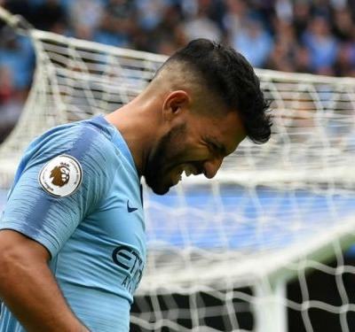 Aguero's ankle concerns Man City and keeps Foden stuck on the bench