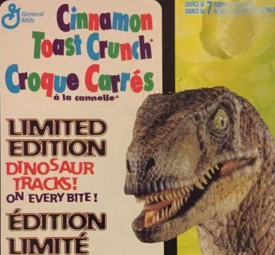 Jurassic World: Fallen Kingdom has a limited edition cereal with a built-in screen