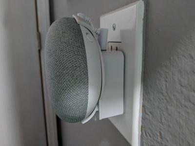 Hands-on: The Mini Back Pack mounts the Google Home Mini to your outlet for $15
