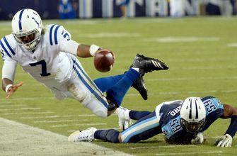 Colts' 11-game dominance of Titans ends with 36-22 loss