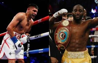 'I would never quit': Amir Khan criticized after being pulled out of Terence Crawford bout in NYC