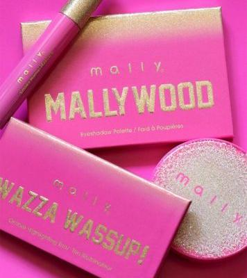 More From the Mally Beauty Mallywood Collection: Mallywood Eyeshadow Palette, Mallywood Wazza Wazzup! Ombré Highlighting Trio, and Mallywood Highlighting Blush