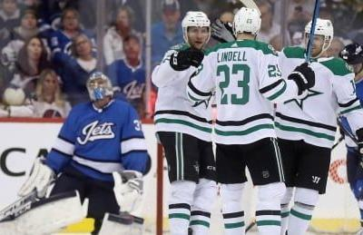 Stars topple Jets with dominant 2nd period
