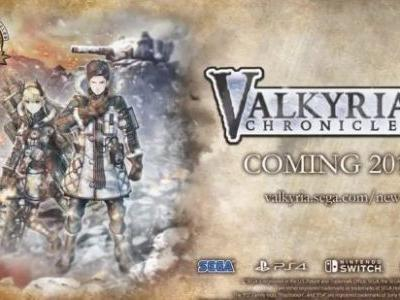 Valkyria Chronicles 4 Coming to PS4, Switch & Xbox One in 2018
