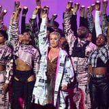 Pink Danced Through Fire AND Rain During Her Insanely Elaborate Brit Awards Performance
