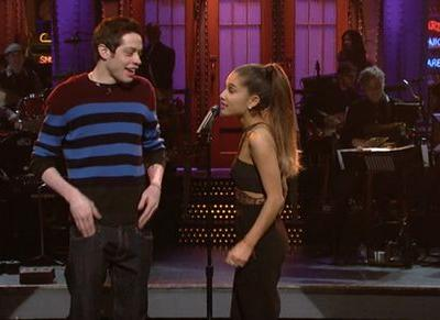 How Did Ariana Grande & Pete Davidson Meet? Fans Have A Pretty Convincing Theory