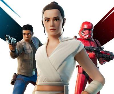 Fortnite adds Rey and Finn skins in time for Star Wars: The Rise of Skywalker