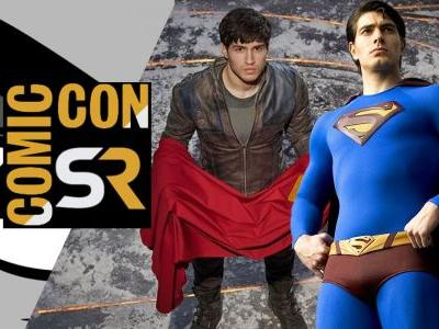 Krypton's Seg-El Actor Meets Former Superman Brandon Routh