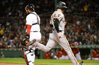Jeff Samardzija carries no-hitter into 6th as Giants pound the Red Sox