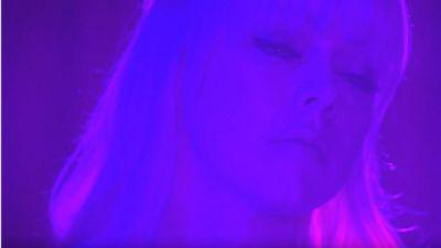 Chromatics Play 'Shadow' In Front Of 'Twin Peaks' Red Curtains