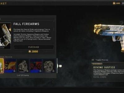 Black Ops 4 wants $20 for two gun skins, one of which you have to grind for hours to unlock