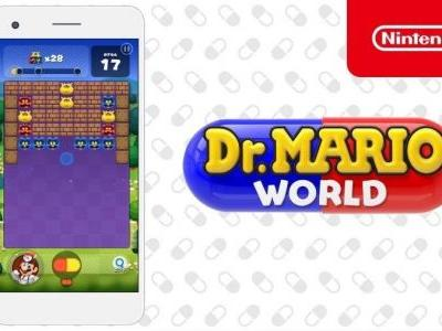 Dr. Mario World Arrives on iOS and Android July 10