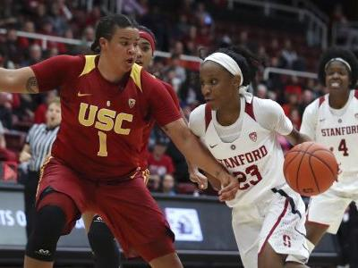 Williams scores 22, No. 6 Stanford beats USC 72-64