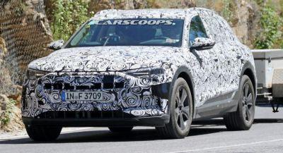 Scoop: Production All-Electric Audi E-Tron Quattro Hits The Road