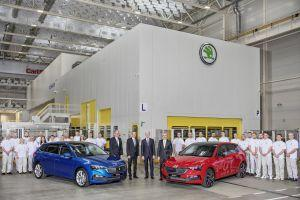 First Skoda Scala Rolls Off Production Line in Europe