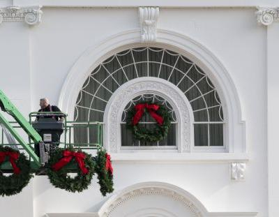 The Photos Of Melania Trump's Final White House Christmas Decorations Are A Surprise
