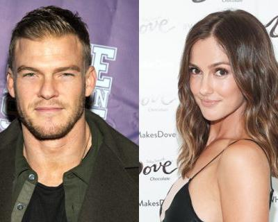 Alan Ritchson and Minka Kelly Cast as Hawk and Dove in DC's Titans