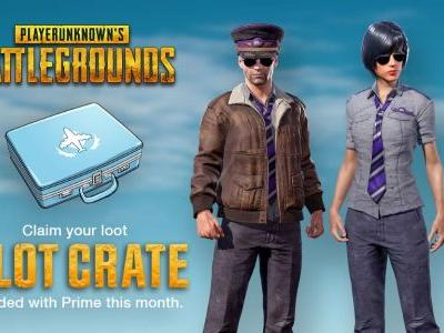 Twitch Prime Members: Fly into Battle with the PUBG Pilot Crate!