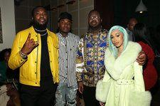 Cardi B, Meek Mill & More Attend Billboard's Inaugural R&B/Hip-Hop Power Players Event In New York