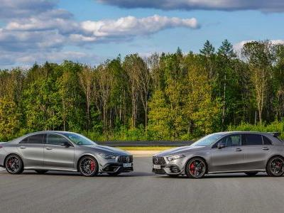 Mercedes-AMG A 45 S And CLA 45 S Are Official With 416 HP